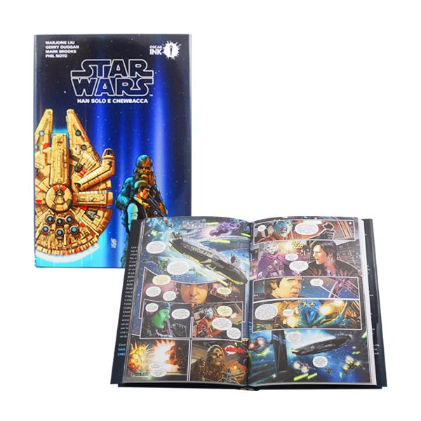 Star wars han solo e chewbacca
