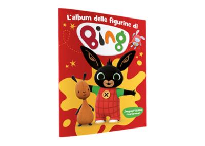 Bing sticker album – Diramix