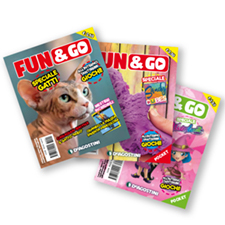 Magazine Fun&Go – DeAgostini